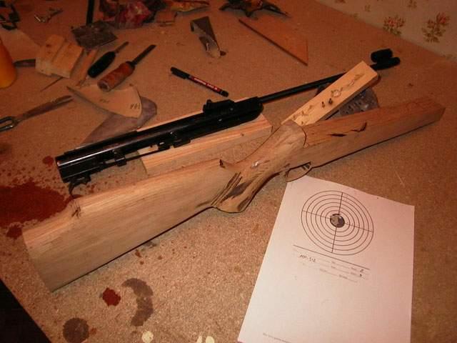 Изготовление лож для винтовок