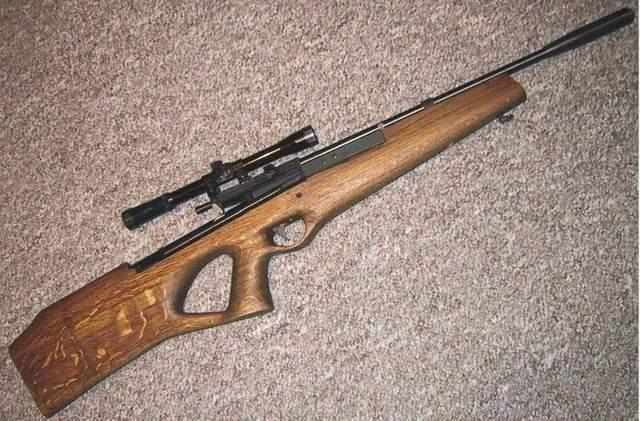 Самодельная пневматическая винтовка своими руками 11