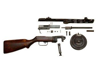 Пистолет-пулемёт Шпагина (ППШ-41) - пистолет-пулемёт, разработанный советским конструктором Георгием Шпагиным...